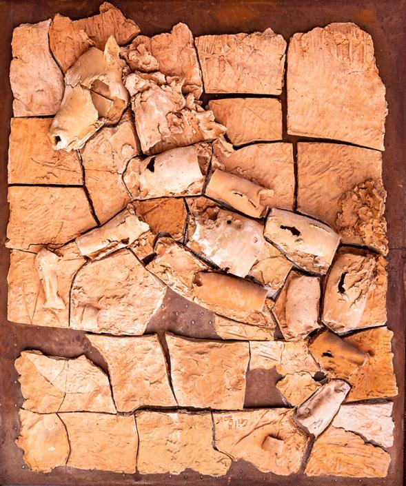 bassorilievo terracotta